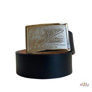 Authentic Louis Vuitton Ceinture Jeans Belt 34